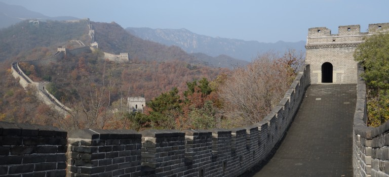 Pékin et la grande muraille