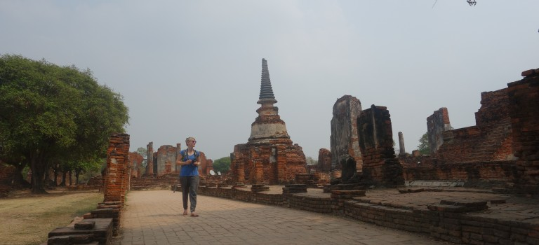 Ayutthaya en vélo